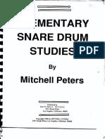 Elementary-Snare-Drum-Studies-Mitchell-Peters-pdf-pdf.pdf