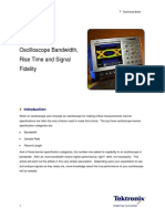 Understanding Oscilloscope BW RiseT and Signal Fidelity