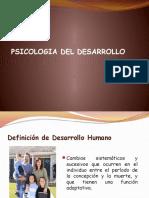 Psicologia Del Desarrollo Tema 1