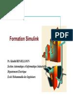 [EMI] Formation Simulink