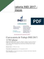 Convocatoria INEI 2017d