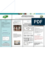 Poster for Optimisation of the Conversion of Waste Cooking Oil into Biodiesel