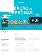 criaçãoDePersonas