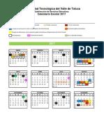 Calendario Cuatri