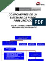 3. Componentes de Un Sistemas de Riego Presurizado