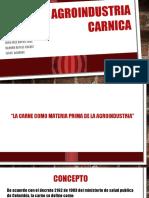 AGROINDUSTRIA-CARNICA