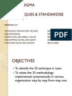 Slide Presentation Lean