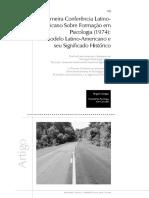 La primera conferencia sobre la formación del psicólogo latinoamericano.pdf