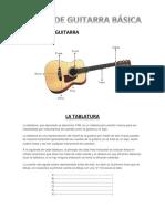 Curso de Guitarra Basica