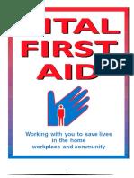 Vital First Aid First Aid Book 2015