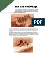 Historia Del Canotaje