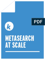 Metasearch at Scale