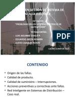 Problemas en Redes de Distribución de Energía Eléctrica - Final Pirat I