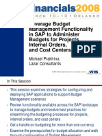 FIN2008 Prakhina Leverage Budget Management