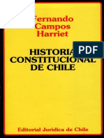 CAMPOS HARRIET, Fernando (1997), Historia Constitucional de Chile. Santiago, Editorial Juridica