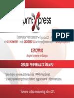 Cenovnik Dizajna i Pripreme Za Stampu