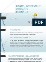 Accidentes, Incidentes y Enfermedades Profesionales
