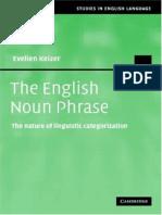 [Evelien Keizer] the English Noun Phrase