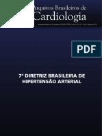 Diretriz Hipertensão Arterial 2016