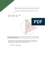 Teorema Del Seno