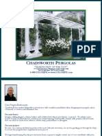 Catalog Custom Pergolas Chadsworth
