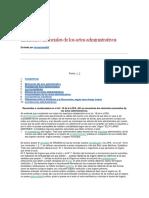 Elementos Esenciales de Los Actos Administrativos