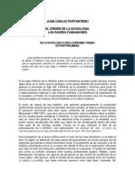 Portantiero - La Sociología Clásica Durkheim y Weber