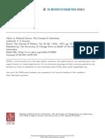 Values in Political Science - Sorzano