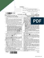 Cbse Ugc Net Paper 1 June 2014