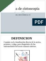 Tecnica de Cistoscopia