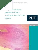 Congenital Candidiasis PA