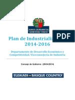 Plan Industrializacion 2014-2016
