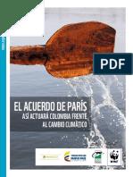El Acuerdo de Paris Frente a Cambio Climatico