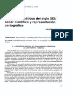 Agustín Hernando. Los Atlas Tematicos Del Siglo XIX...