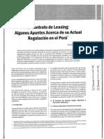 Soria aguilar - Apuntes sobre el Leasing