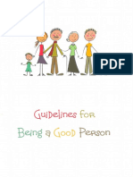 How to Be a Good Person