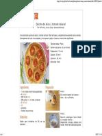 Quiche de Atún y Tomate Natural, Receta Petitchef - Petitchef