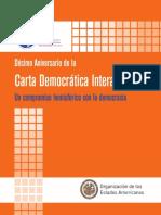 Decimo Aniversario de La Carta Democratica Interamericana