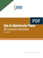 ABC Situaciones Administrativas - DAFP