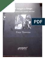 Enzo Traverso - A sangre y fuego. De la guerra civil europea 1914 - 1945 - Prometeo - 2009.pdf