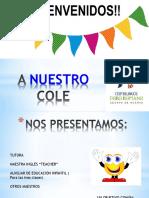 BIENVENIDOS REUNION TRES AÑOS.pptx