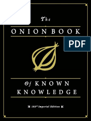 foto de onion.pdf | Publishing | Philosophical Science