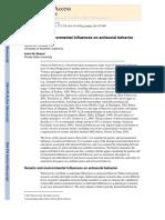 Genetic and Enviromental Influences on Antisocial Behavior