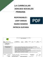 Malla Curricular Sociales 2017 - Primaria