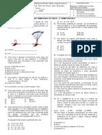 Prova de Fisica - 1ºA