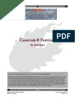 Carnivals Festivals