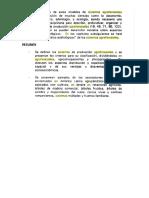 Modelos Edafológicos de Sistemas Agroforestales