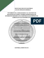 Tratamiento de La Obsolescencia y El Valor Neto de Realización de Acuerdo a NIIF, (Electrodomesticos)