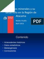 06 - Rec Minerales y Des Regional - W Vivallo - Sernageomin