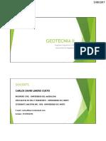 1.1 Presentación Geotecnia II